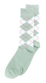 Alfredo Gonzales Socks Wall Street White