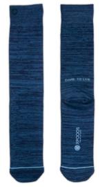 XPooos Essential Bamboo Sokken Blauw Mel. 67004
