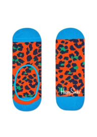 Happy Socks Liner Leopard Orange