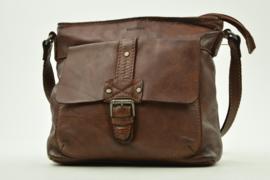 Bag2Bag Limited Edition Schoudertas Terrel, Dark Tan Cognac