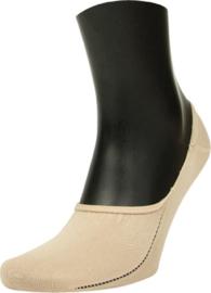 Steps Invisible Footie Sneaker Sok | 5-Pack | Beige