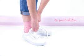 Alfredo Gonzales Short |Low Sock, Pencil Pink