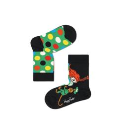 Happy Socks Pippi Langkous Kids Peekaboo Sock
