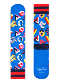 Happy Socks Athletic 3D Dot Crew Sock