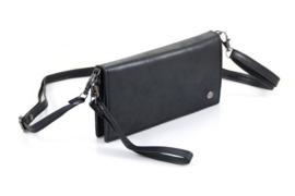 Zwart portemonnee / tasje Bentveld