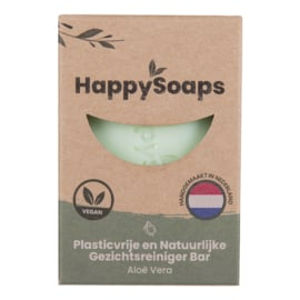 HappySoaps Gezichtsreiniger Bar - Aloë Vera