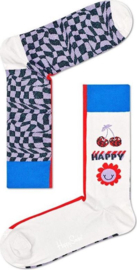 Happy Socks Half Mood Optic Sock