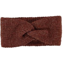 Sarlini   Knitted Gebreide Haarband Clara   Brown Melange
