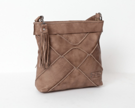 Bag2Bag Brandon Grey/Brownish   Stoere grote Shopper   Schoudertas