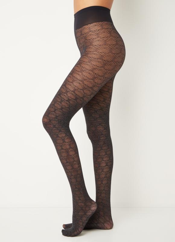 Oroblu   Optical Liaison Panty met Lurex 50 denier   Zwart