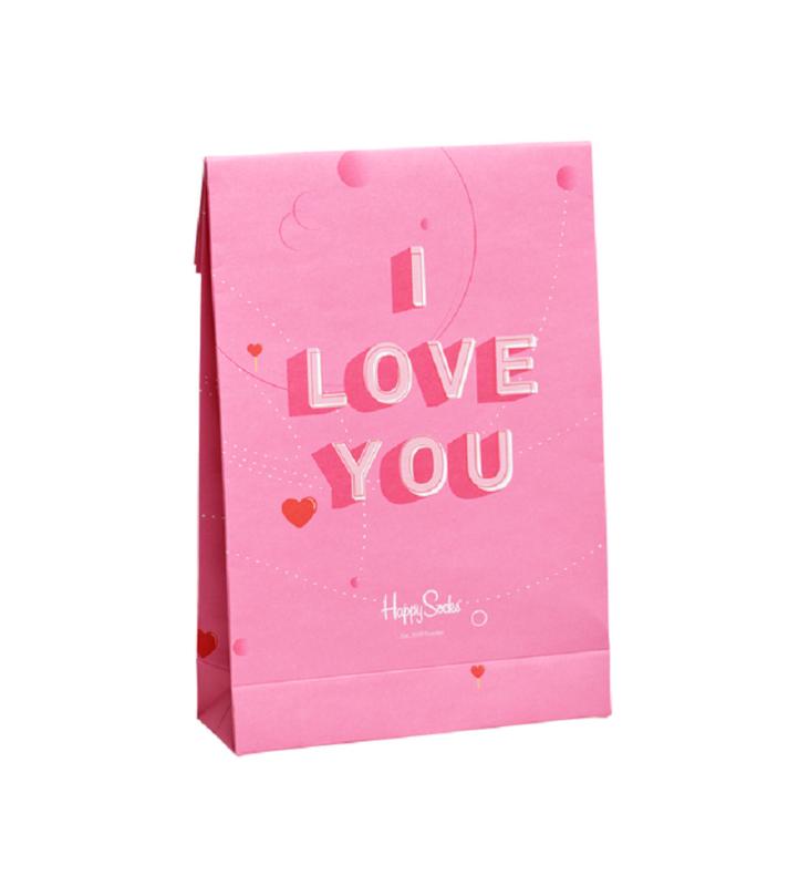 Happy Socks Gift Bag I love You