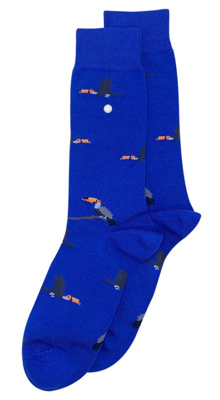 Alfredo Gonzales Socks   Toucan Blauw