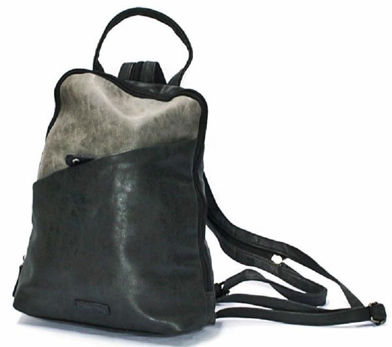 Rugzak | Backpack Basic Contrast | Grijs/Zwart