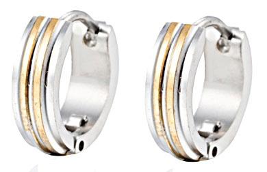 authentieke kwaliteit groothandel beste verkoop Creool Oorbellen Edelstaal, Stainless Steel 13mm OB0186 ...