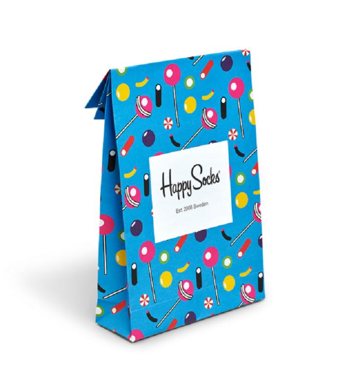 Happy Socks Gift Bag Lollypop