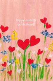 Happy hartelijke gefeliciteerd