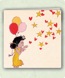 Happy birthday! klapkaart