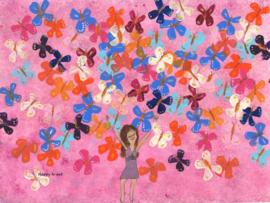 Vlinders! Poster