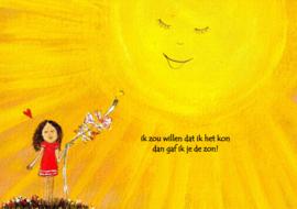 gaf ik je de zon