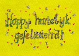 Happy hartelijk gefeliciteerd!