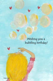 Wishing you a bubbling birthday!