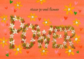 stuur je veel flowerpower