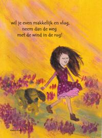 Wind in de rug