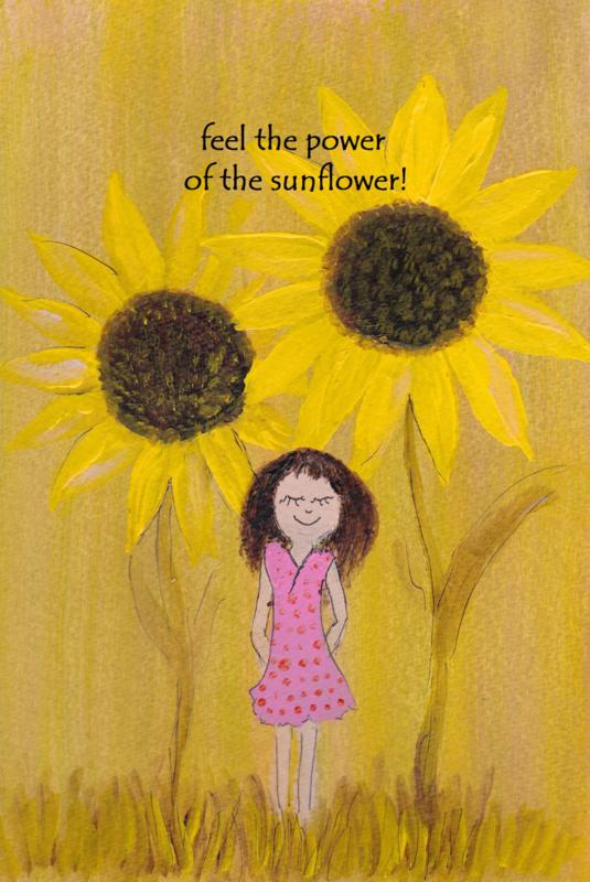 Feel the power of the sunflower!