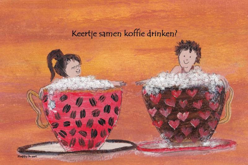 Keertje samen koffie drinken?