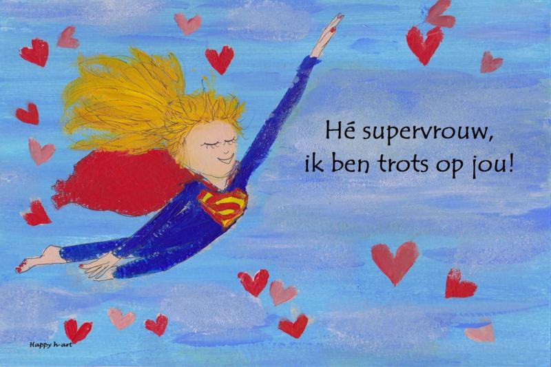 Supervrouw!