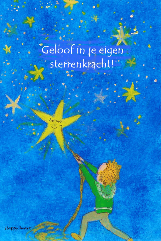 Geloof in je eigen sterrenkracht