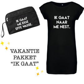 VAKANTIEPAKKET - IK GAAT