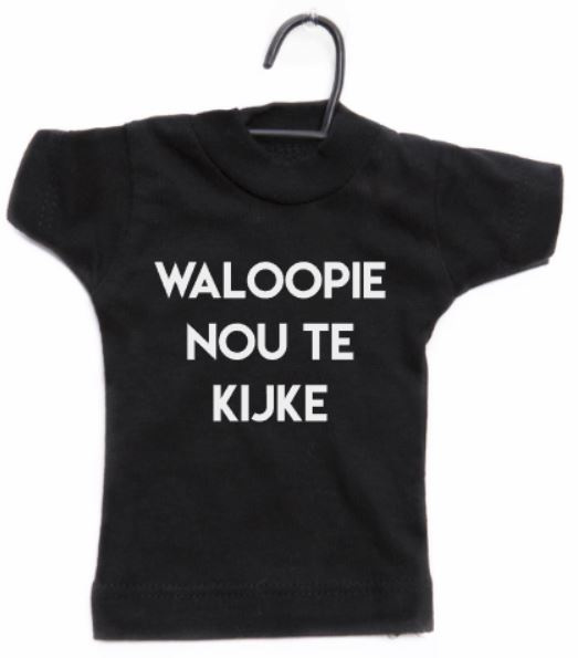 MINI SHIRT - WALOOPIE