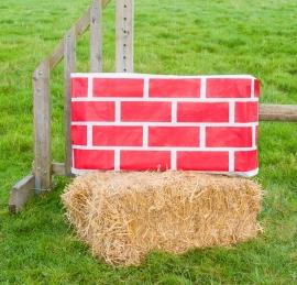 Brick/Diamond Rood (2 stuks)