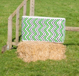 Circle/ Zigzag Groen (2 stuks)