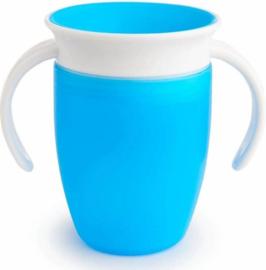 Munchkin Miracle 360° cup - Blauw - 207ml - 6+ mnd