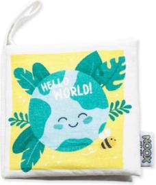 Noox Zacht Babyboekje Hello World