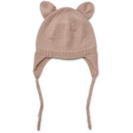 Liewood Vera bonnet 9-12 mnd Rose