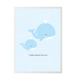 Poster walvis