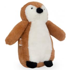 Knuffeltje Pinguin Caramel
