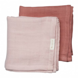 Muslin cloth 2 pack berry