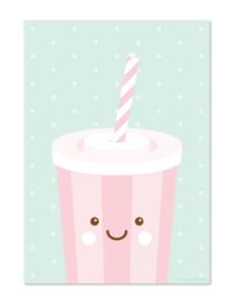 Poster milkshake
