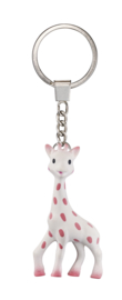 Sleutelhanger Sophie de Giraf - Pink Ribbon