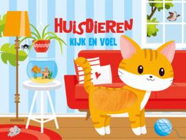 Kijk en Voel Huisdieren Boek