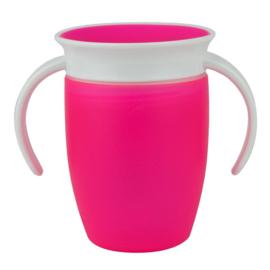 Munchkin Miracle 360° cup - Roze - 207ml - 6+ mnd