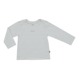 Kiddo Shirt Wit Strepen