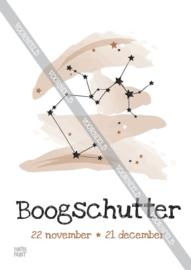 Boogschutter poster
