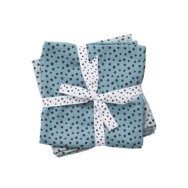 Swaddle Happy dots blue
