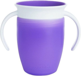 Munchkin Miracle 360° cup - Paars - 207ml - 6+ mnd