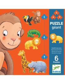 Djeco Puzzel Safari Dieren